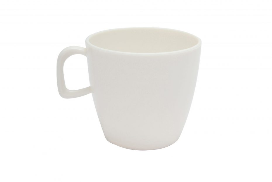 Cup with handle White