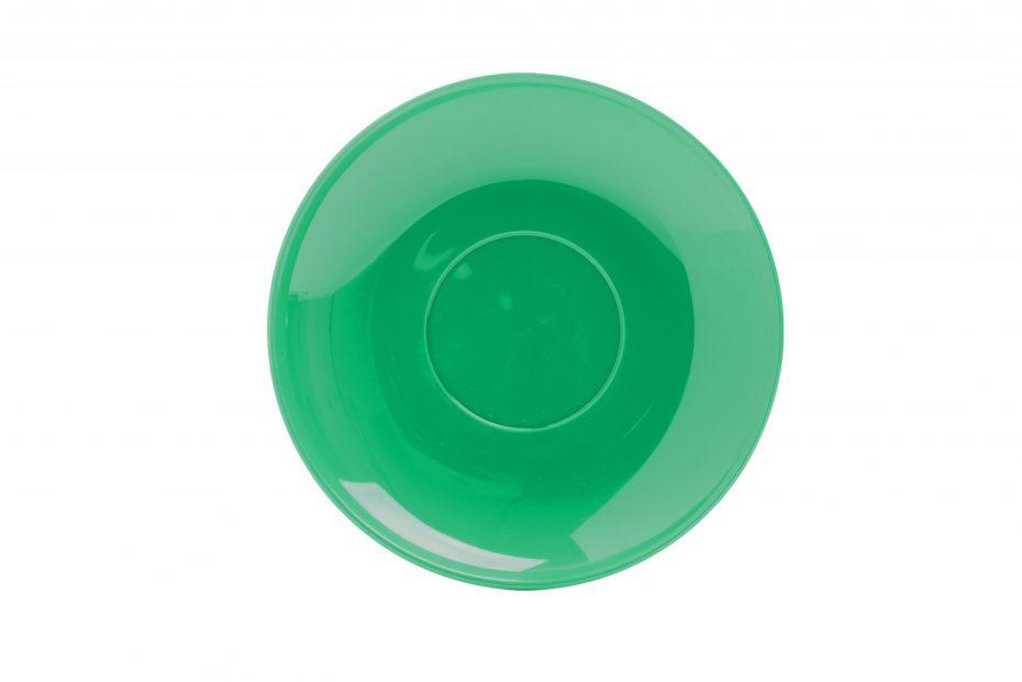 Cup Saucer Emerald Green