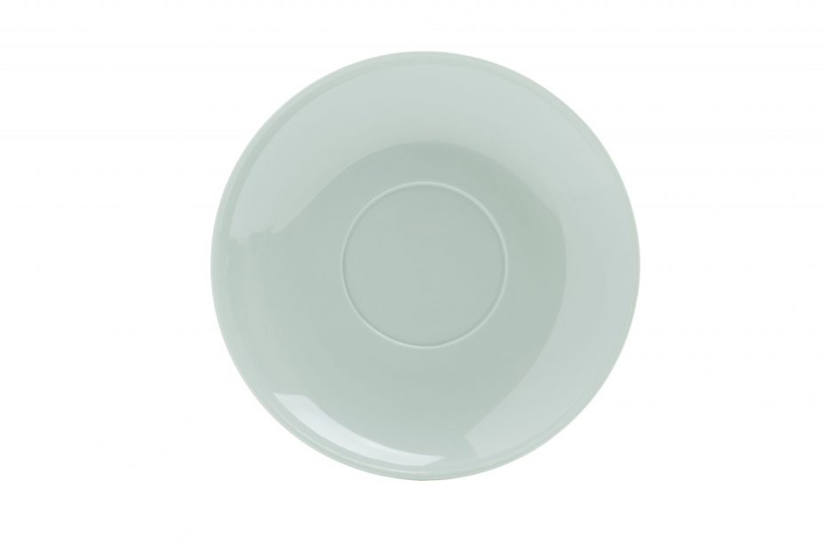 Cup Saucer Grey Green