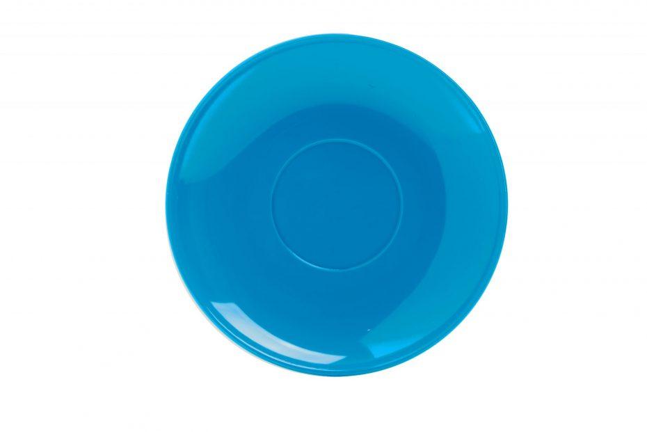 Cup Saucer Blue