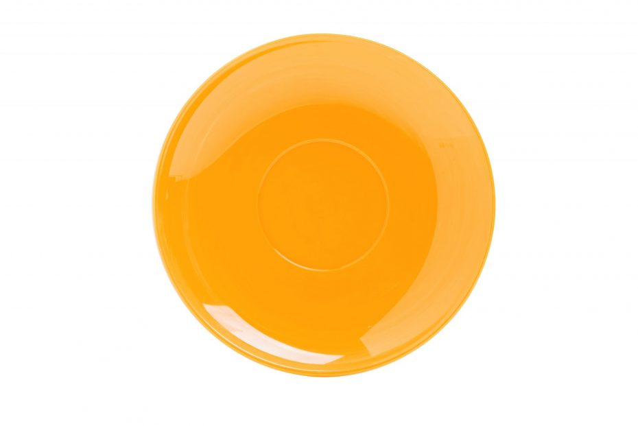 Cup Saucer Yellow