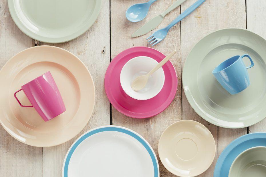 Pastel Dinner Plates