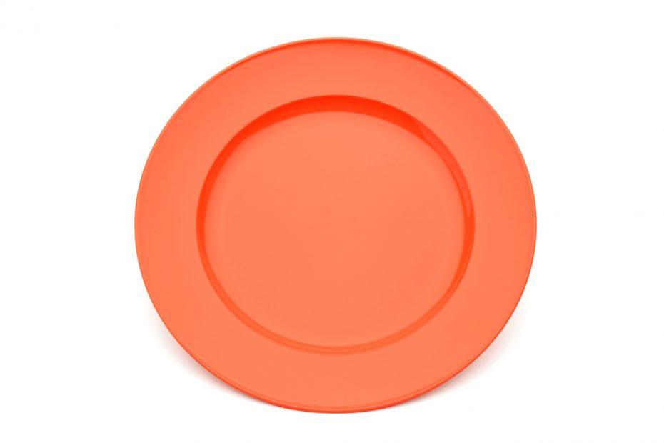 Large Wide Rimmed Dinner Plate