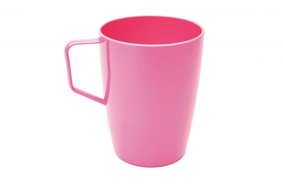 Beaker with Handle Pink
