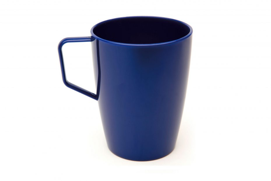Beaker with Handle Royal Blue