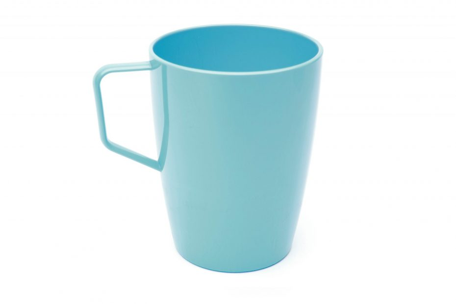 Beaker with Handle Summer Blue