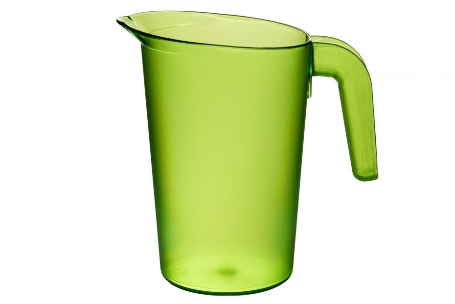 Lime 1L Frosted Translucent Jug