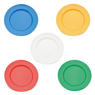 Wide Rimmed Dessert Plate