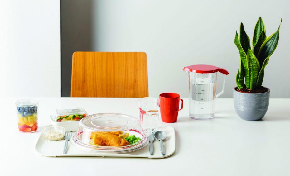 Red Antibacterial Beaker with Handle