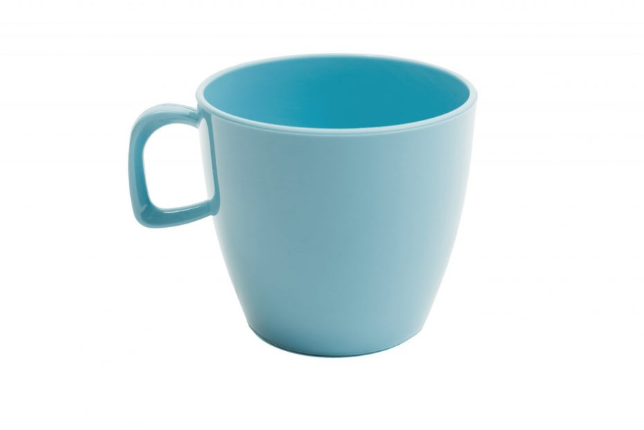 Cup with handle Summer Blue