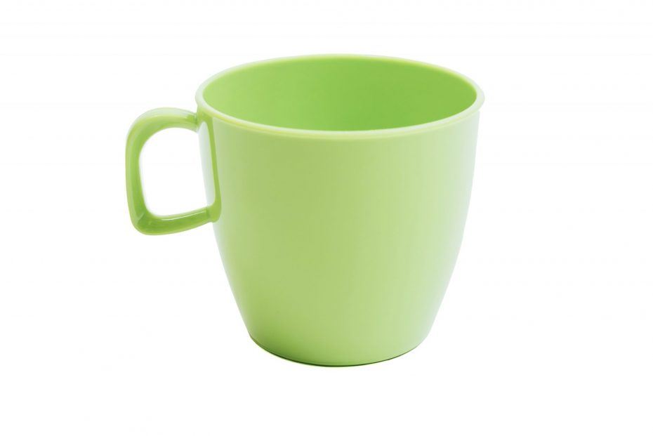 Cup with handle Apple Green