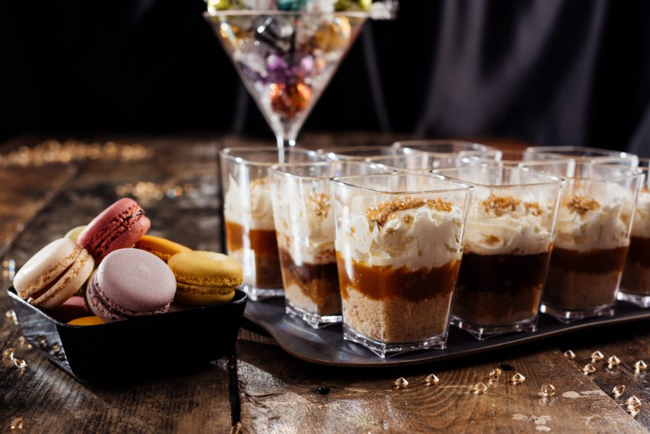 Caramel and Cream Dessert Pots