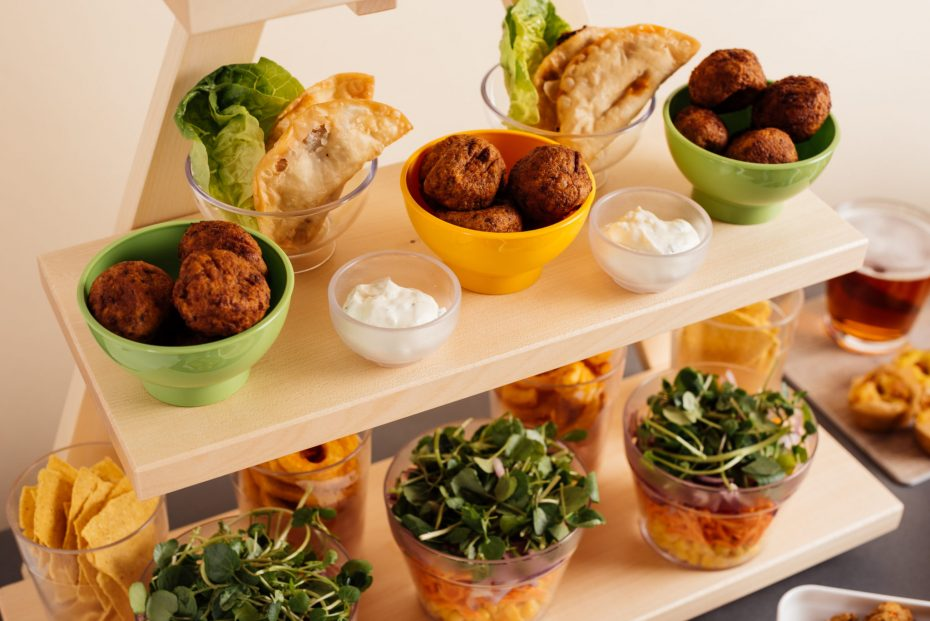 Small Tapas Bowls For Self Service Buffet