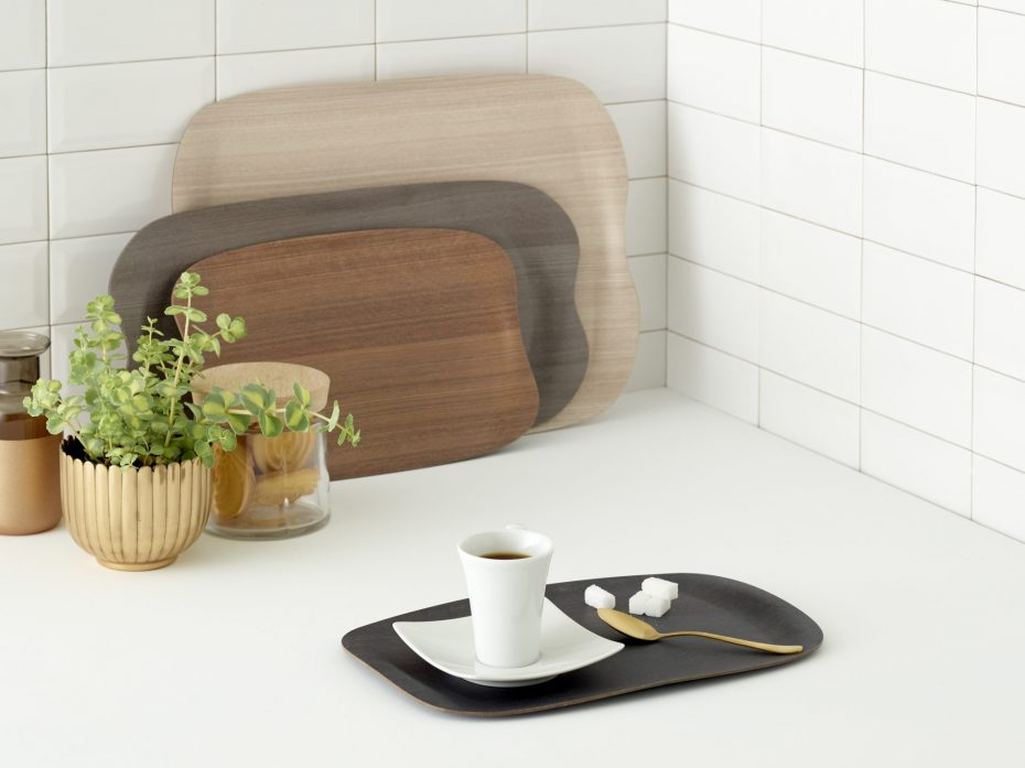 Small Earth Wave Serving Tray