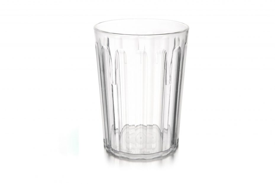 250ml Fluted Tumbler in Clear