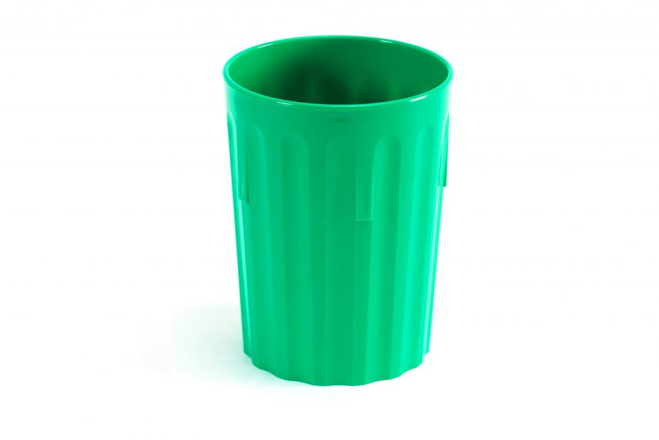 250ml Fluted Tumbler in Emerald Green