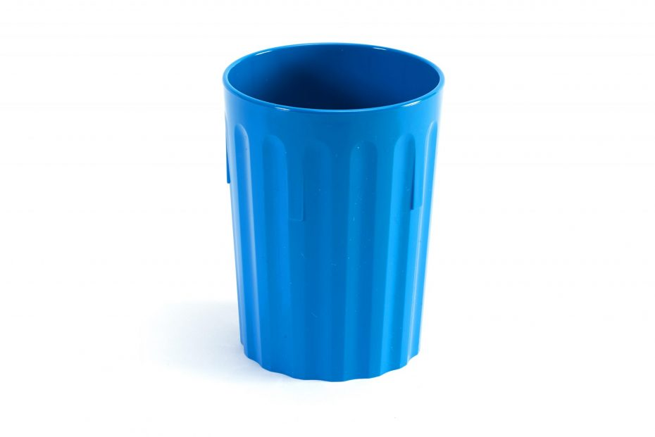 250ml Fluted Tumbler in Blue
