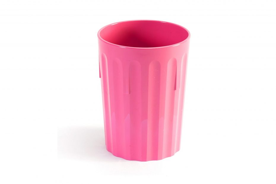 250ml Fluted Tumbler in Pink