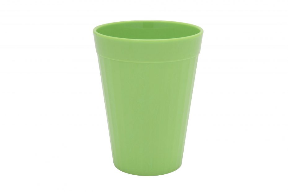 200ml Fluted Tumbler in Apple Green