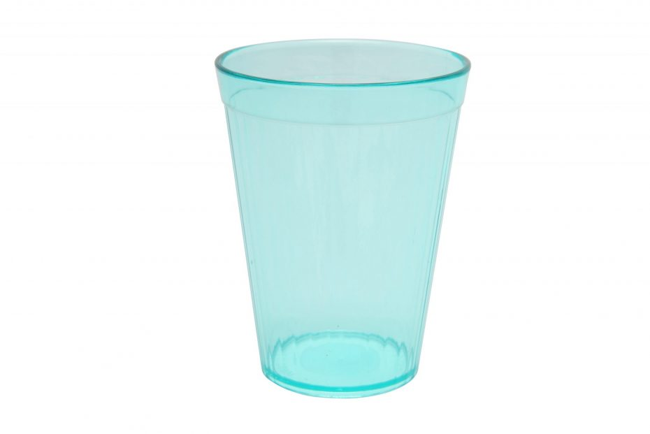 200ml Fluted Tumbler in Aqua