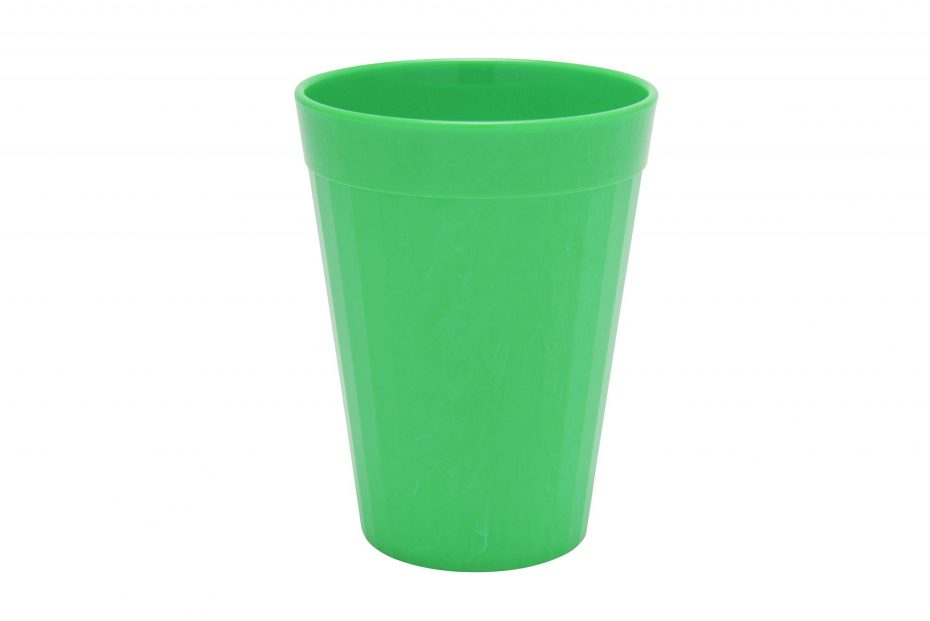 200ml Fluted Tumbler in Emerald Green
