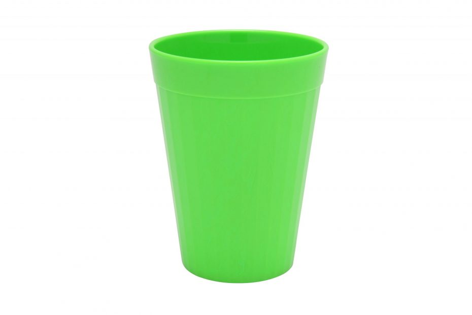 200ml Fluted Tumbler in Lime Green