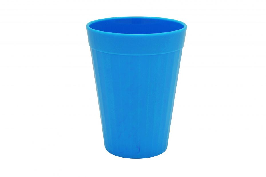 200ml Fluted Tumbler in Blue