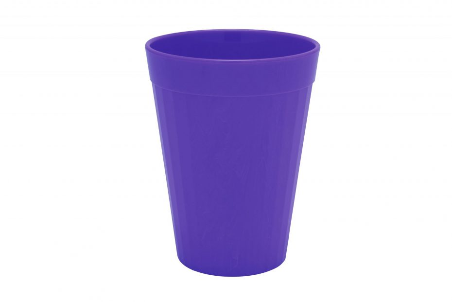 200ml Fluted Tumbler in Purple