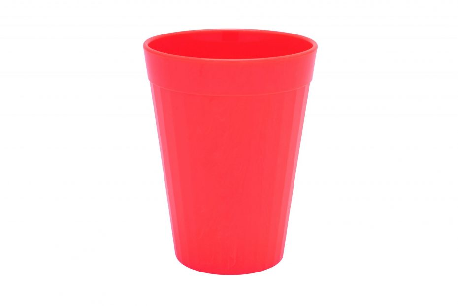 200ml Fluted Tumbler in Red