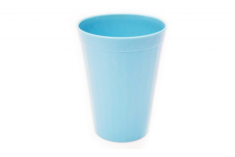 200ml Fluted Tumbler in Summer Blue