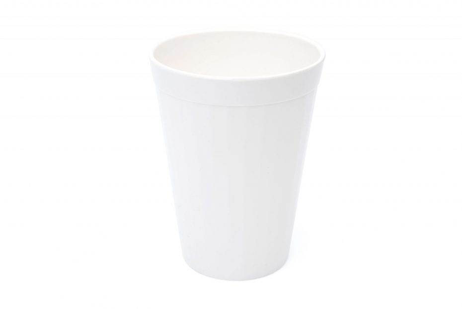 200ml Fluted Tumbler in White
