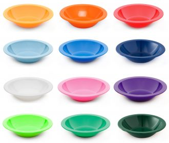 Narrowed Rimmed Bowl
