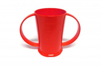 2 Handled Graduated Beaker in Red