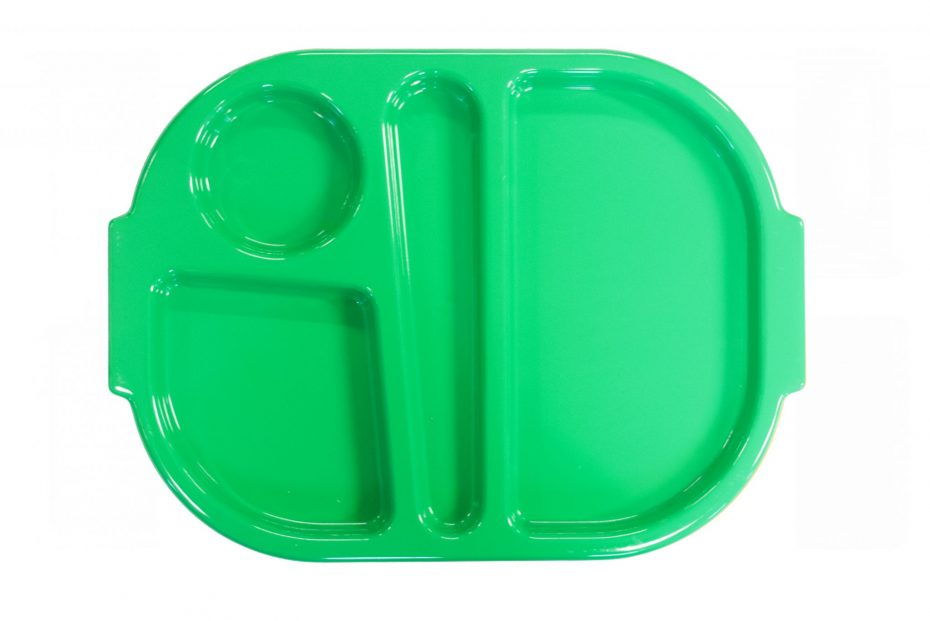 Emerald Green Small Meal Tray