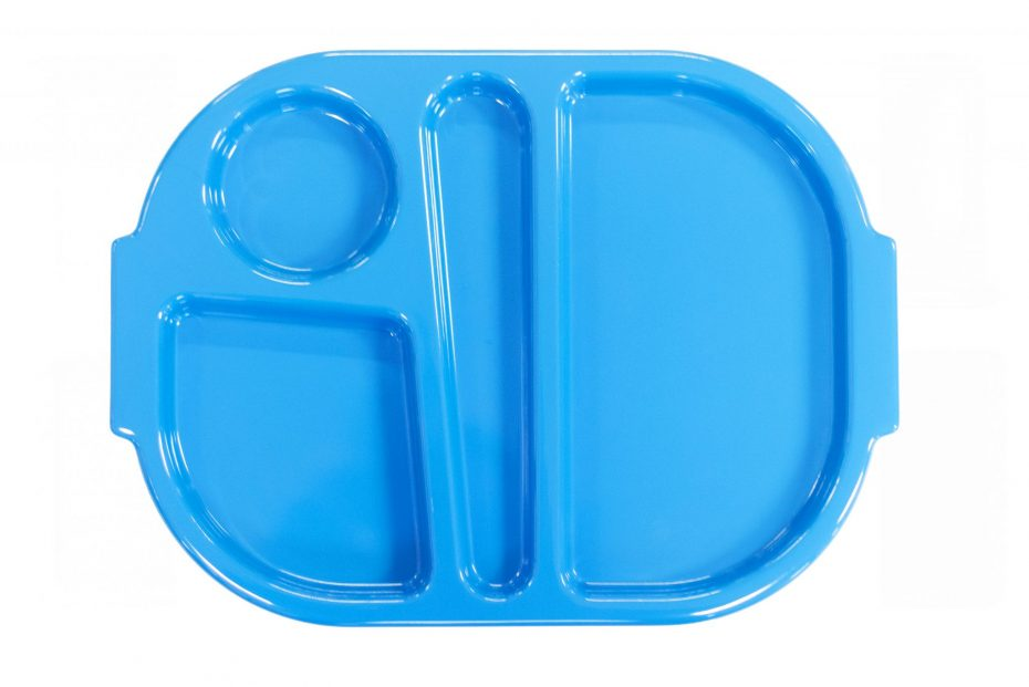 Blue Small Meal Tray