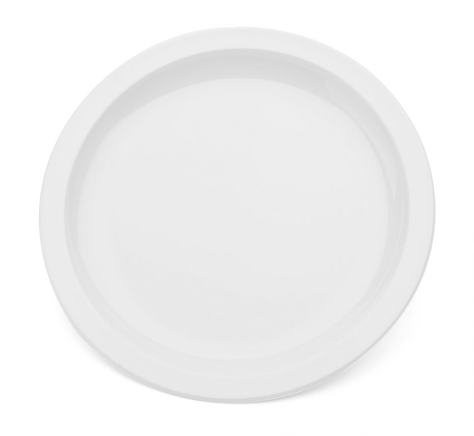 Large Narrow Rimmed Plate