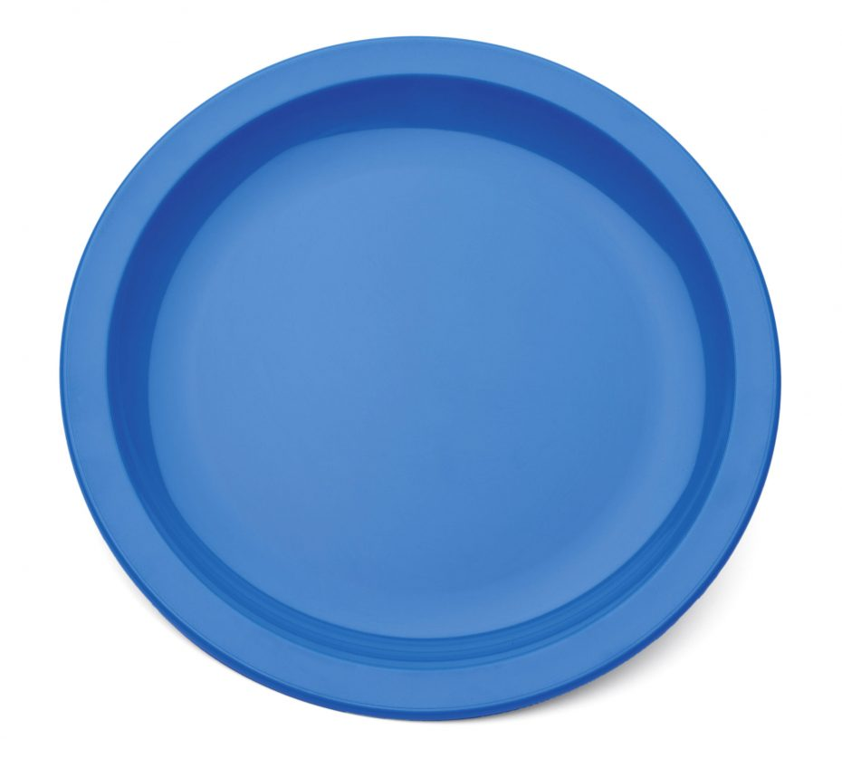 Small Narrow Rimmed Plate