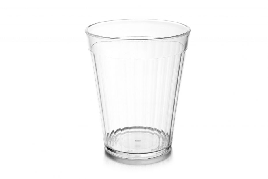 150ml Fluted Tumbler in Clear