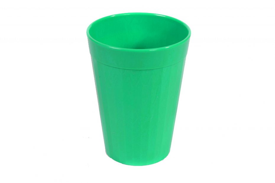 150ml Fluted Tumbler in Emerald Green