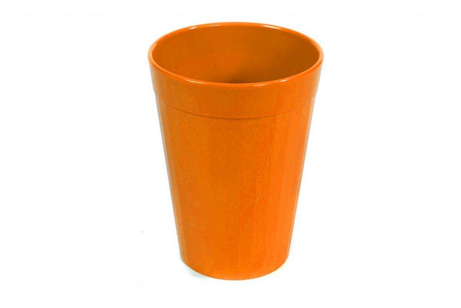 150ml Fluted Tumbler in Orange