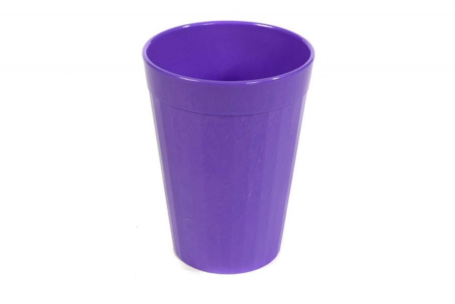 150ml Fluted Tumbler in Purple