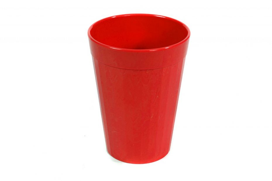 150ml Fluted Tumbler in Red