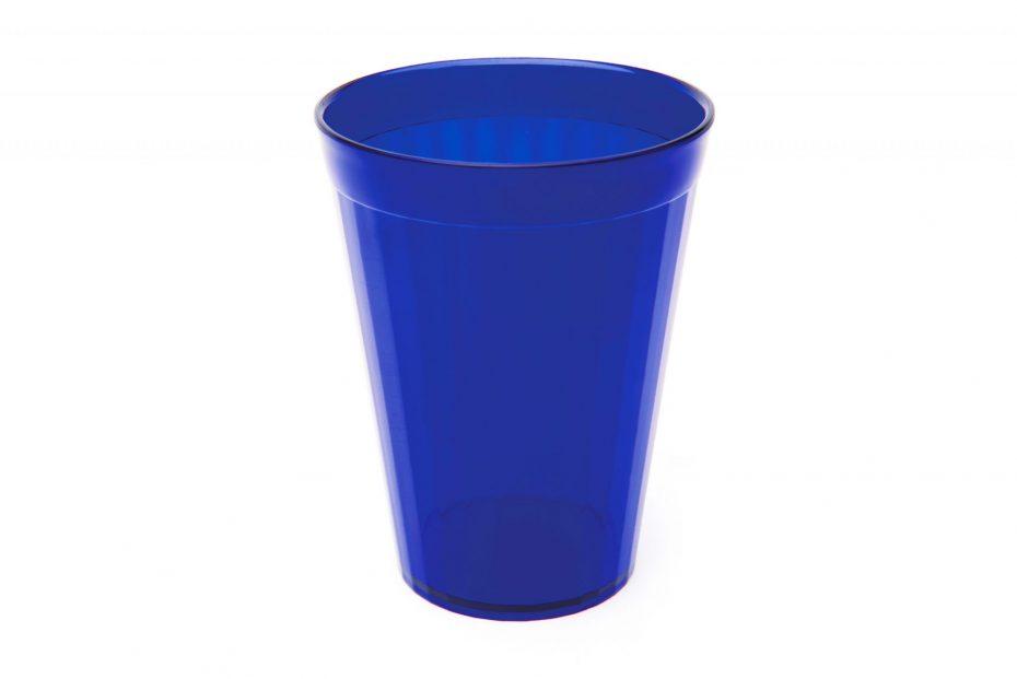 150ml Fluted Tumbler in Translucent Blue