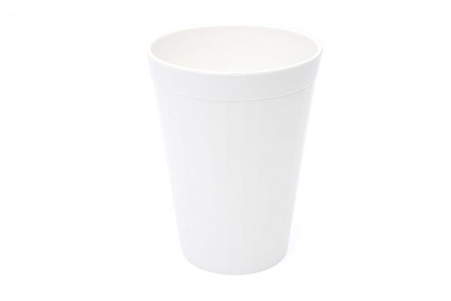 150ml Fluted Tumbler in White