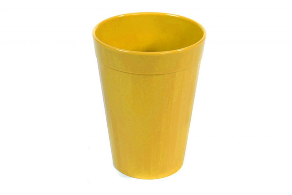 150ml Fluted Tumbler in Yellow