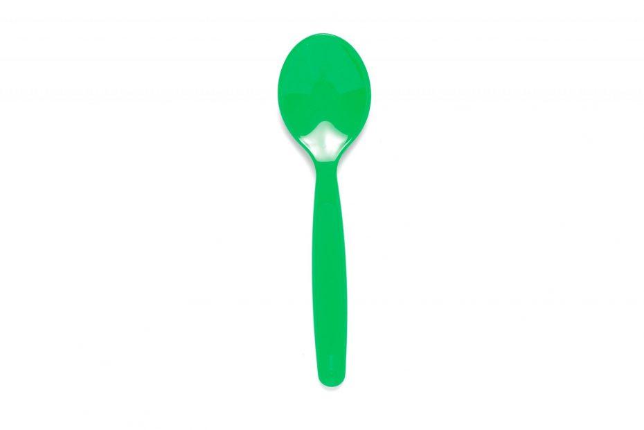 Small Dessert Spoon in Emerald Green