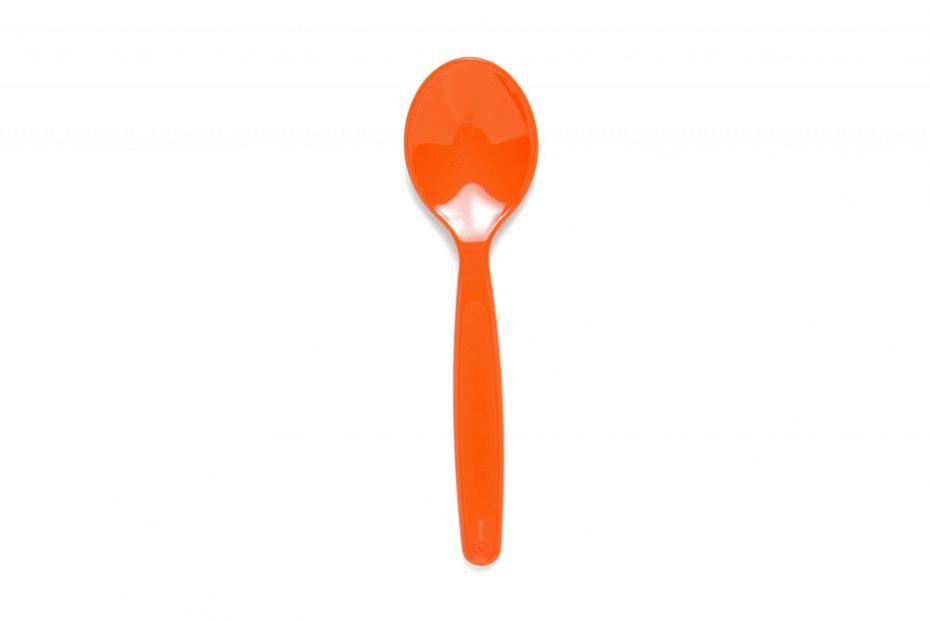 Small Dessert Spoon in Orange