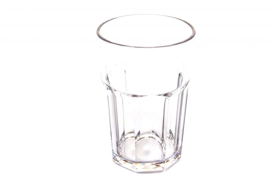 American Style Tumbler in Clear