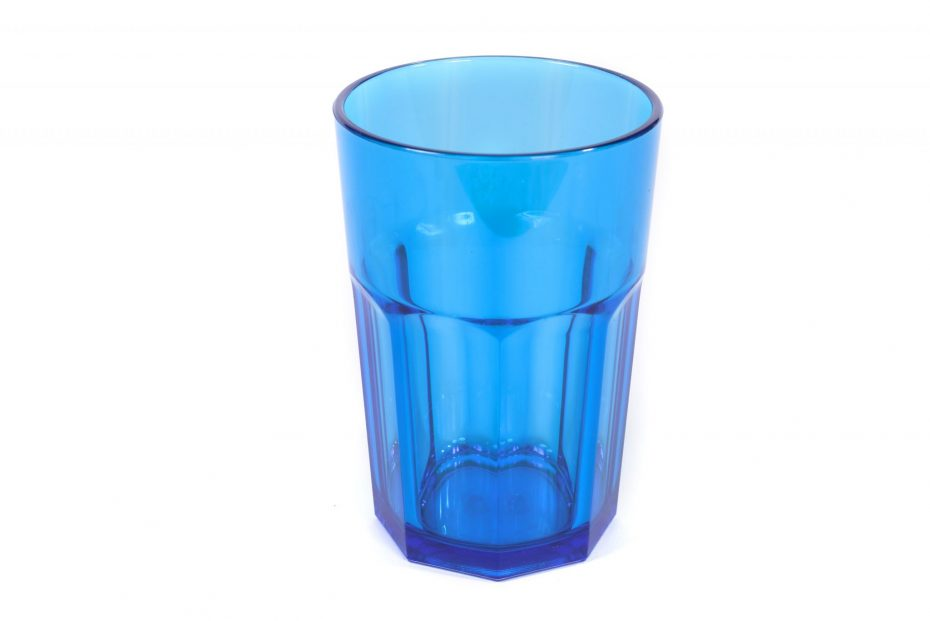 American Style Tumbler in Translucent Blue