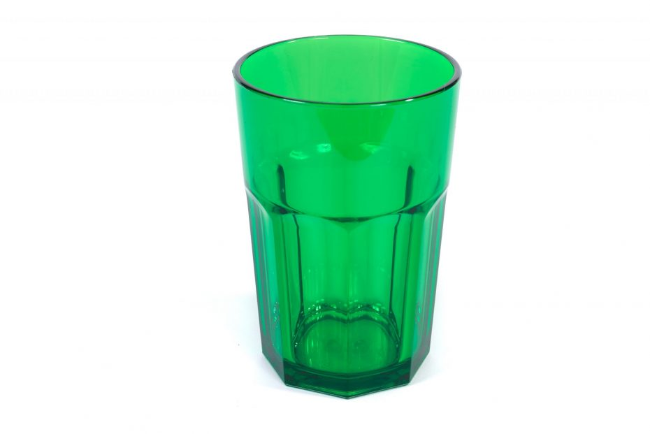 American Style Tumbler in Translucent Green